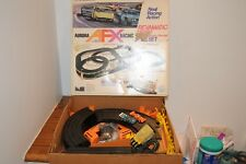AURORA AFX Racing Slot Car- peter revson Revamatic 500 Race Set With Two Cars HO