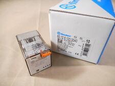 Finder Relay 60.12.8.120.0040 DPDT relay, 120VAC coil (NIB)
