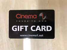 Cinema 1 Gift Card - $40 Mail Delivery