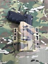 "Multicam Kydex Light Holster SIG Square Slide 5"" 1911 Surefire X300 Ultra"