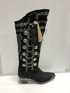 Dan Post, Chain Reaction Cowgirl Boot Black Size 7 M