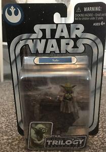 Hasbro 2004 Star Wars OTC Original Trilogy #02 Yoda Action Figure (Sealed)