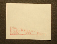 Griechenland 1984: ATM/variable rate stamp/label, m. A-Nr. 005,Teil-Druck -RARE!