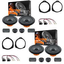 Hertz DSK 165.3 + DSK165.3 Kit Casse Altoparlanti Ant+Post Alfa Giulietta 2012>