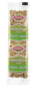 Mixed-nut 3 bars with sesame and peanut 70g