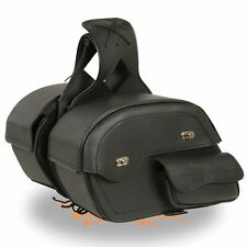 """16"""" W x 11"""" H Motorcycle Waterproof Saddlebags Easy Removal For Suzuki - Sv9E (Fits: Suzuki)"""
