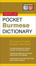 Pocket Burmese Dictionary : Burmese-English English-Burmese by Periplus...
