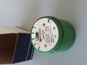 TELEMECANIQUE XVAC331 STACKLIGHT GREEN LENS BEACON NEW NIB