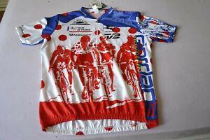 Giordana MOUNTAIN Le Tour De France 1996 Cycling Jersey  Sz-7- XXXL-Italy