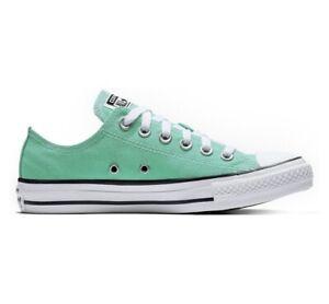 Converse Women All Star Mint Green Sneakers Size 8