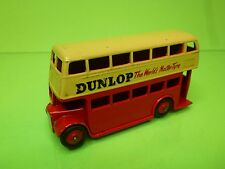 DINKY TOYS - 1:43 - NO= 290   LONDON BUS DUNLOP  - IN NEAR MINT  CONDITION