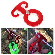 crochets attelage traction Camping Rangement pratique durable nouveau rouge mode