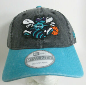 Charlotte Hornets Hat Strapback Adult Prefade NBA New Era Basketball Cap
