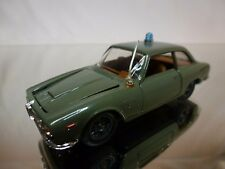 POLITOYS 537  ALFA ROMEO 2600 SPRINT BERTONE - POLIZIA - GREEN 1:43 - VERY GOOD