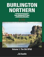 BURLINGTON NORTHERN in Color: WASHINGTON -- (NEW BOOK 2019)
