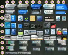 Laptop PC sticker - lenovo enhanced energy star dolby audio ultrabook thinkpad