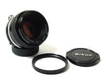 Nikon 50mm F/1.8 AiS lens | Super Sharp Focale Fissa | eccellente & pronto all'uso.