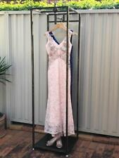 Tall Framed Clothing Rack Stand Wedding Debutante Dress Display Unit FBRS002