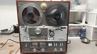 Vintage Akai Cross-Field X-355 Tape Recorder Serviced & Working See Video