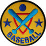 Baseball Patch Embroidered Badge Sports Embroidery Applique Iron Sew On Clothes
