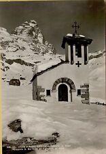 139479 cervinia breuil cappella san bernardo ed il cervino