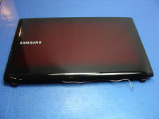 "Samsung NP-R580-JSB1US 15.6"" Genuine LCD Back Cover w/Front Bezel BA75-02368A"