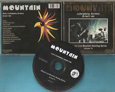 Mountain The - CD - Live in Ludwigsberg Germany 1996 - CD von 2006 - Neuwertig !