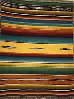 Southwest Heirloom Santa Fe Maize Geometric Art Tapestry Throw Blanket 246BTU2