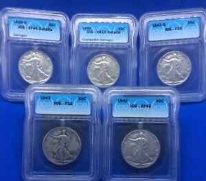 1939-1943 Liberty Half Dollars