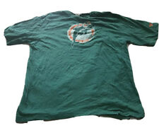 Reebok Miami Dolphins Vintage Collection Men's Shirt Size Large