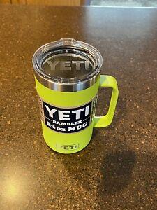 Yeti Chartreuse Mug 24oz