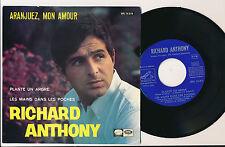 """RICHARD ANTHONY EP 7"""" ESPAGNE ARANJUEZ MON AMOUR"""