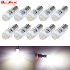 10Pcs 6V DC BA9S T4W 1895 T11 LED Car Light Lamp COB 1W White 6000K Globe Bulbs