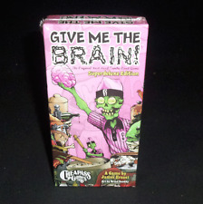 CheapAss Games Give Me The Brains Superdeluxe Edition Zombie Fast Food Card Game