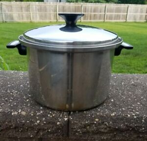 CARICO NUTRI-TECH 18-10 304 STAINLESS STEEL LARGE POT