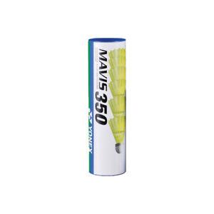 YONEX Mavis 350 gelb 6x Nylonbälle sehr haltbar versch. Geschwindigkeiten
