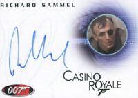 James Bond in Motion 2008 Richard Sammel as Gettler Autograph Card A97
