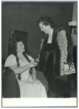 Paris, Mme Bidault au Gala Marjorie Lawrance Vintage silver print Tirage argen