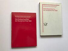 Postwertzeichen der Deutschen Post 1984 Jahreszusammenstellung ( DDR )