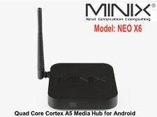 MINIX NEO X6 Quad Core Cortex A5 WiFi Wireless Streaming Media Hub for Android