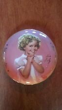Precious, the Shirley Temple signature Limited Edition collector plate
