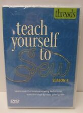 Threads Teach Yourself to Sew Season 4 DVD Step by Step Video Guide
