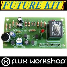 Future Kit Clap Interruptor Bricolaje FK409 Sonido Activado Soldar Flux Workshop