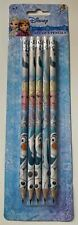 DISNEY FROZEN Set of 5 x School HB Pencils with Eraser Tops