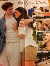 Twilight, Kristen Stewart, Robert Pattinson Justin Bieber 4 Page Foldout  Poster