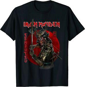 Iron Maiden - Senjutsu Samurai Sword Eddie Red Circle Unisex T-Shirt, S-5XL