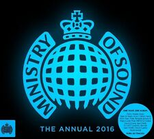 MINISTRY OF SOUND - THE ANNUAL 2016 BRAND NEW SEALED 3CD