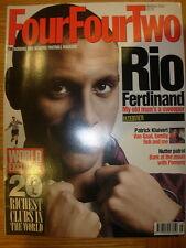 FOUR FOUR TWO MAGAZINE No 55 MARCH 1999 RIO FERDINAND