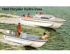 1968 Chrysler Hydro-Vees Boat  Refrigerator / Tool Box Magnet