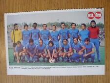 "1976/1977 Football Magazine (France) Colour Team Group [8""x 5""] Cut Outs: Bastia"